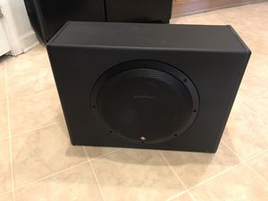 "Rockford Fosgate Subwoofer P300-12 12"" 300W without the cables. for Sale in Oakton, VA"