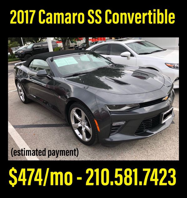 2017 Chevrolet Camaro SS Convertible For Sale In San