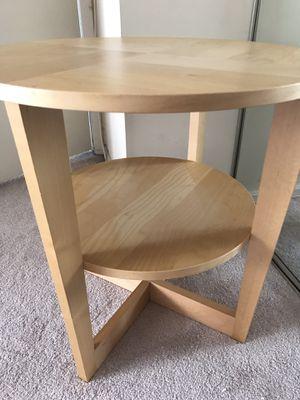 IKEA VEJMON Side Coffee Accent Round table oak veneer for Sale in Lincolnia, VA