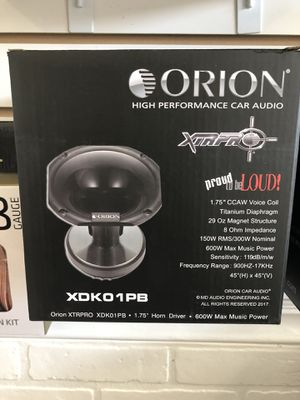 DRIVER WITH HORN 700W for Sale in Orlando, FL