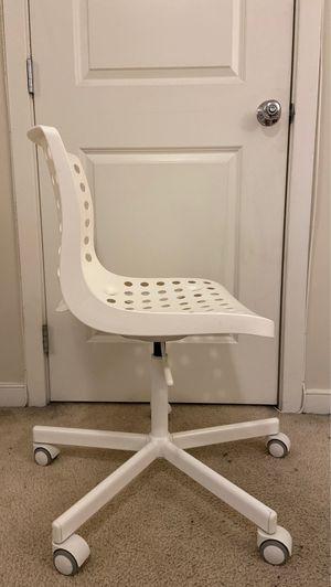 Photo White IKEA desk chair