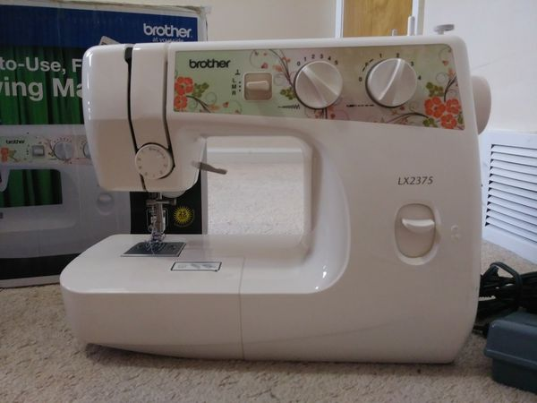 Brother Sewing Machine LX40 For Sale In East Lansing MI OfferUp Enchanting Brother Sewing Machine Lx2375