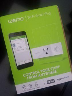 WeMo WiFi Smart Plug! Brand new! Thumbnail