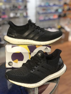 Core black white ultraboost 2.0 size 9.5 for Sale in Silver Spring, MD