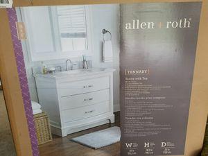 allen + roth bathroom vanity for Sale in Woodbridge, VA