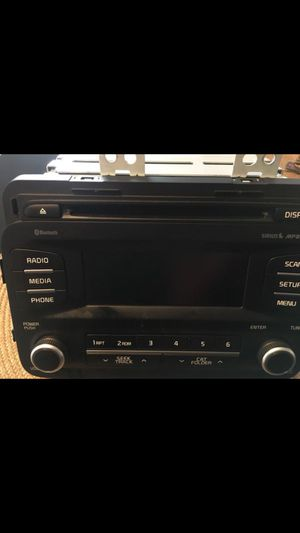 Double din car audio player with blutooth for Sale in Phoenix, AZ