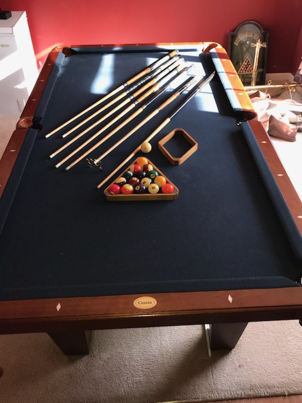 Professional Cannon Pool Table For Sale In Indianapolis IN OfferUp - Cannon pool table