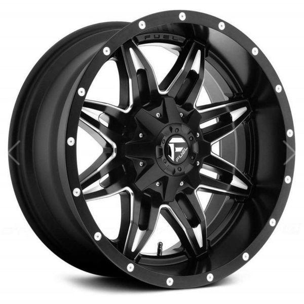 Fuel Offroad D567 Lethal 15x10 6x139.7 -43mm Black/milled