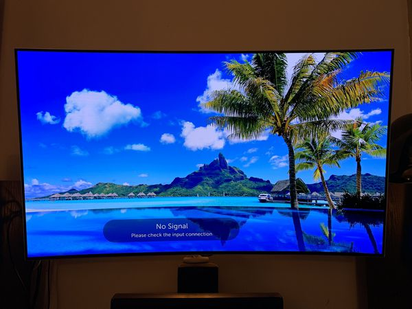 LG OLED55C6P curved 3D tv for Sale in Essex, MA - OfferUp