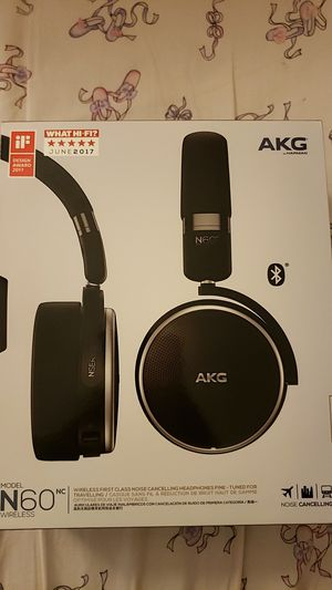 Akg n60 nc wireless headphones for Sale in Chantilly, VA