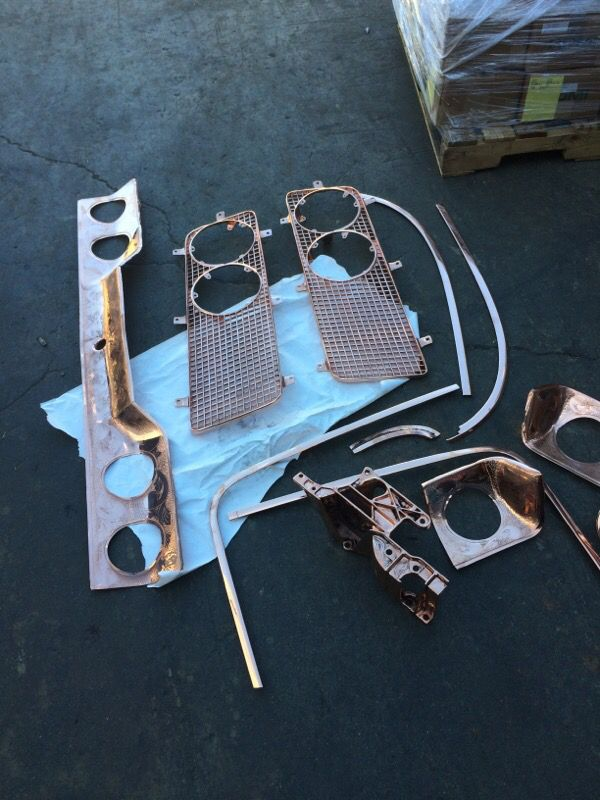 Metal Polishing Near Me >> I Chrome I Specialize In Classic Part Restoration Send Me A