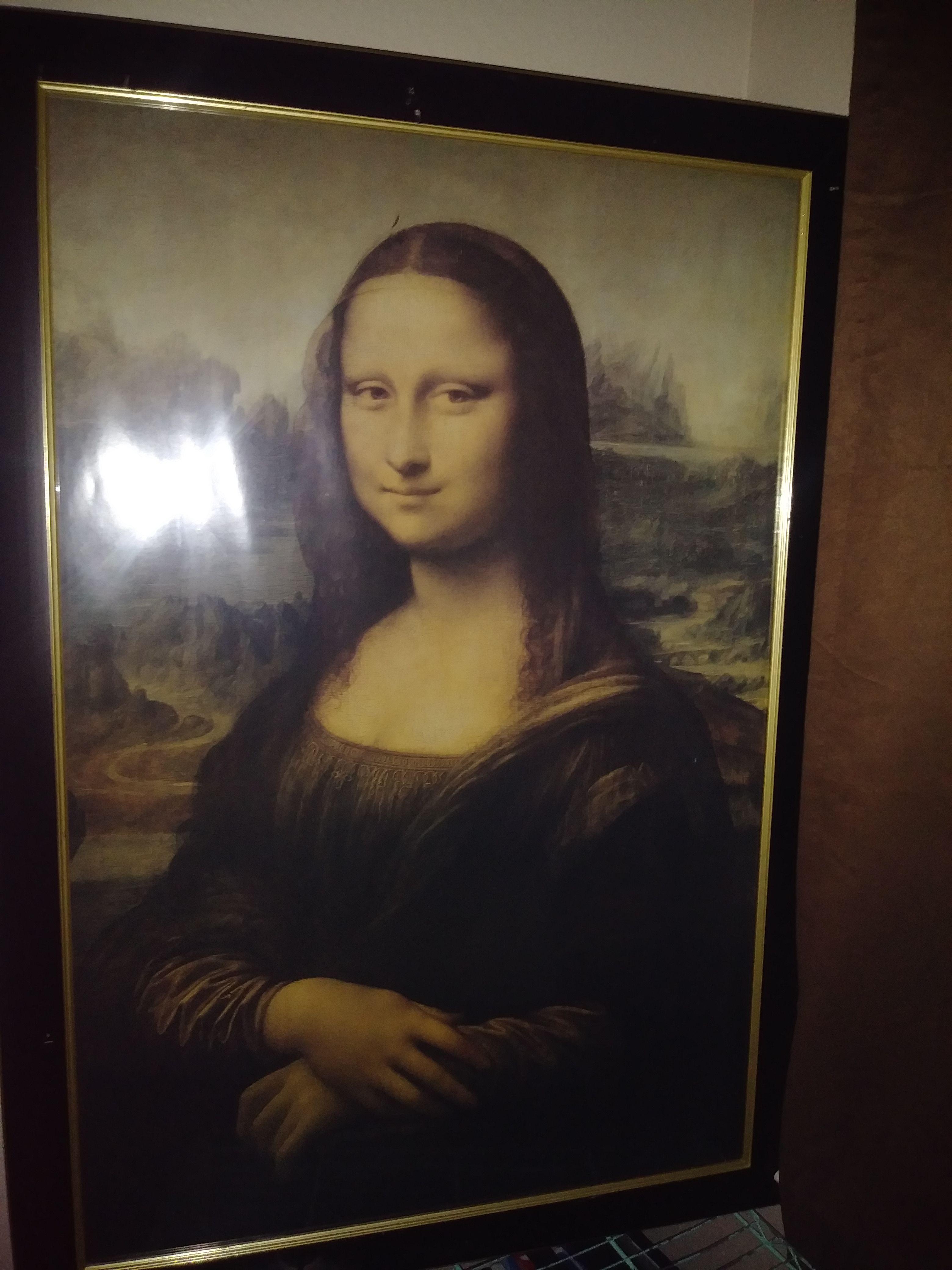 Monalisa big frame