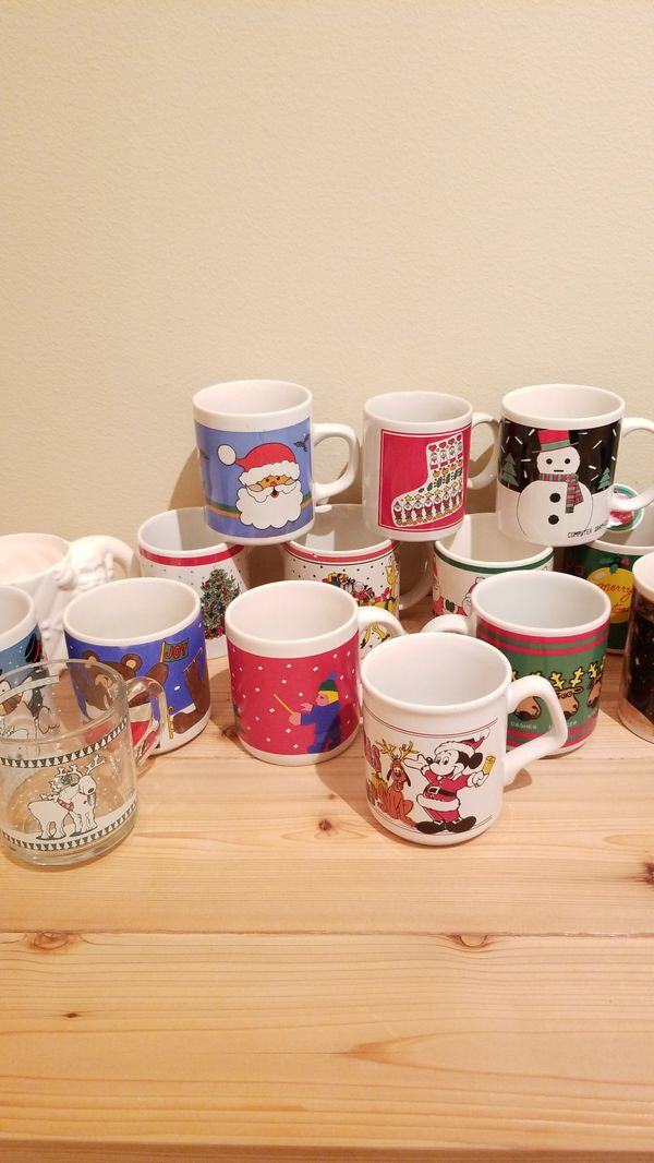 christmas coffee cups for sale in everett wa offerup - Christmas Coffee Cups