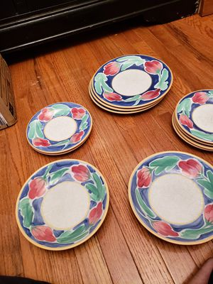 Beautiful Dinner Plates Set for Sale in Rockville, MD