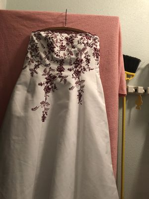 Used size 18 wedding dress for Sale in Bellingham, WA