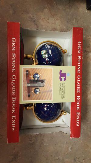Gemstone globe book ends for Sale in Alexandria, VA