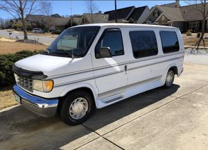 Photo 1995 Ford E150 Econoline Cargo Conversion Van 174k Miles