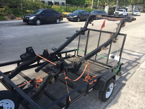 Jeep TJ Frame chasis (Auto Parts) in Miami, FL - OfferUp