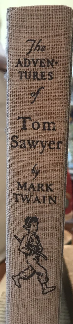 The adventures of Tom Sawyer By Mark Twain and illustrated by Norman Rockwell for Sale in Farmville, VA