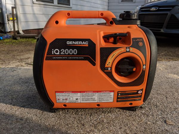 Generac Iq2000 Watt Generator For Sale In Kannapolis Nc Offerup