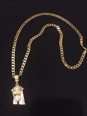 "14k gold plated chain 24"" long for Sale in Orlando, FL"