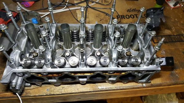 K20Z1 cylinder head fully built/K20A type R cams for Sale in Saint Cloud,  FL - OfferUp