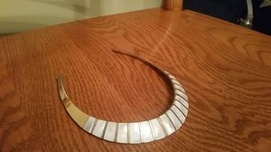 Vintage Mid Century Modern Brass Mother of Pearl Necklace for Sale in Montgomery Village, MD