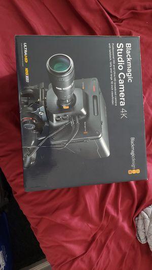 Photo Blackmagic studio Camera 4K