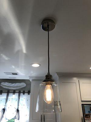 Kitchen Island Lights (2) for Sale in Mokena, IL