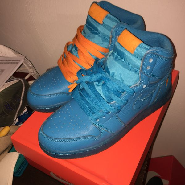new arrival 517db 4af6a Gatorade 1s Blue size 7 for Sale in Virginia Beach, VA - OfferUp