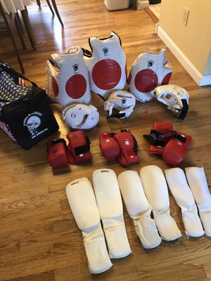 Tae Keon Do sparring gear for Sale in Pittsburgh, PA