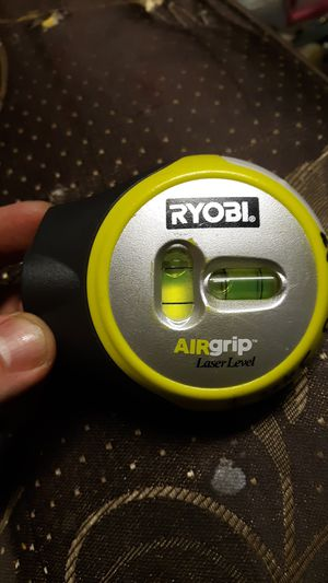 RYOBI AIRGRIP- LASER LEVEL for Sale in Columbus, OH