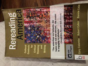 College algebra 3rd edition hard cover for sale in santa monica ca rereading america 9th edition for sale in santa monica ca fandeluxe Image collections