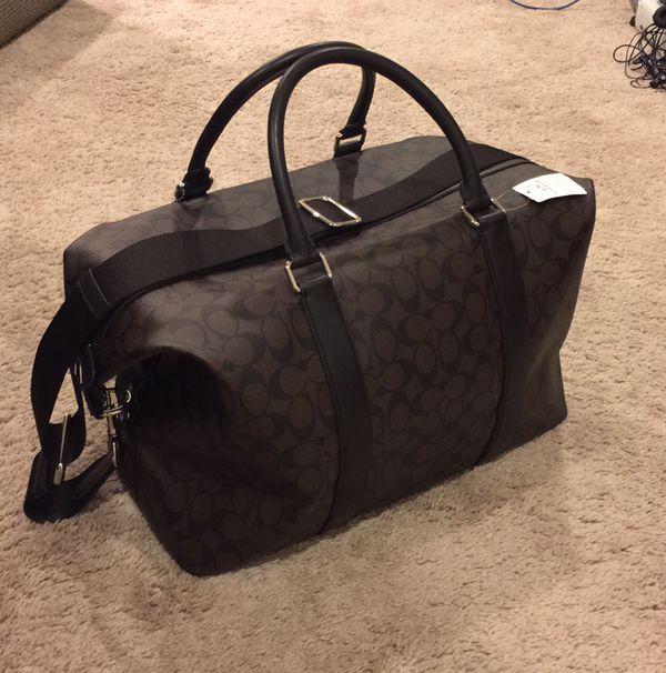 04afe9650 Men's Coach travel bag for Sale in Everett, WA - OfferUp