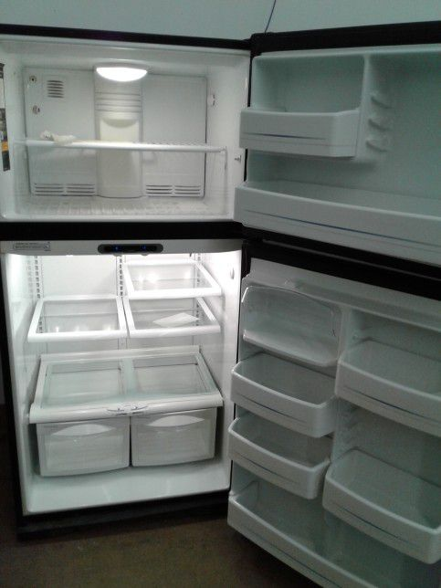 Awesome GE Top Mount Refrigerator And Freezer #182