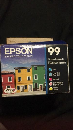 Epson ink 99, missing light cyan for Sale in Pittsburgh, PA