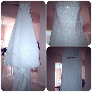 New Davids Bridal Wedding Dress Size 4 For In Durham Nc