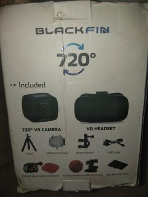 BlackFin 720° Full Panoramic Virtual Reality Camera and Headset for Sale in  San Diego, CA - OfferUp