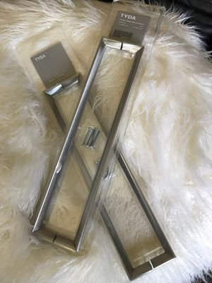 Stainless steel cabinet handles (pkg of 2) for Sale in Rosemont, IL