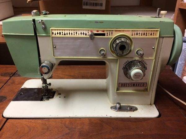 Vintage Dressmaker Sewing Machine With Table For Sale In Kennedale Gorgeous Dress Maker Sewing Machine