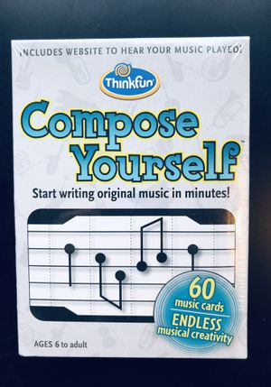 Compose Yourself Music Card Game by Thinkfun *NEW* for Sale in Leesburg, VA