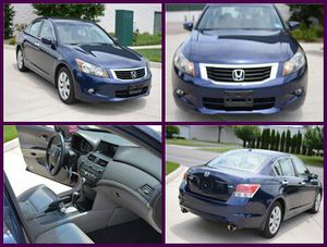 Clear CarFax 2008 Honda Accord EX-L Low Miles for Sale in Chicago, IL