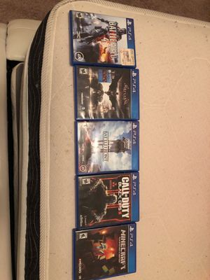 PS4 games for Sale in Arlington, VA