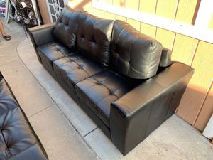 New and Used Leather couch for Sale in Pleasanton, CA - OfferUp