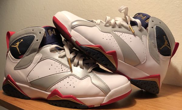 bf70f0dd5a59 Air Jordan Retro 7 Olympic size 9.5 for Sale in Tacoma