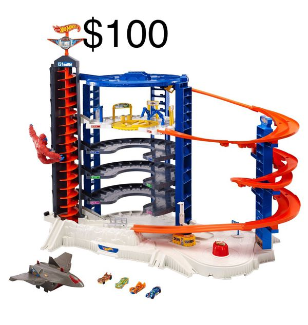Hot Wheels Super Ultimate Car Garage New Without Box Games Toys