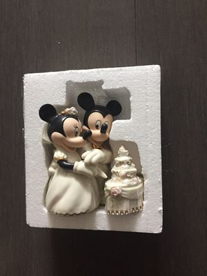 Lenox Minnie wedding cake figurines for Sale in Washington, DC