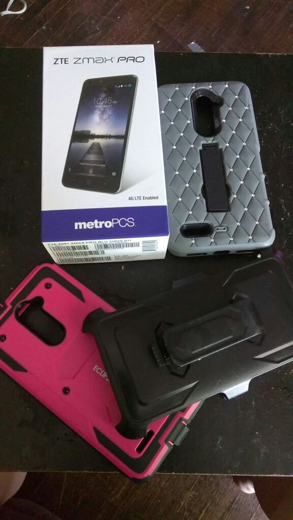 Metro PCs phone  Zte zmax pro for Sale in Elmira, NY - OfferUp