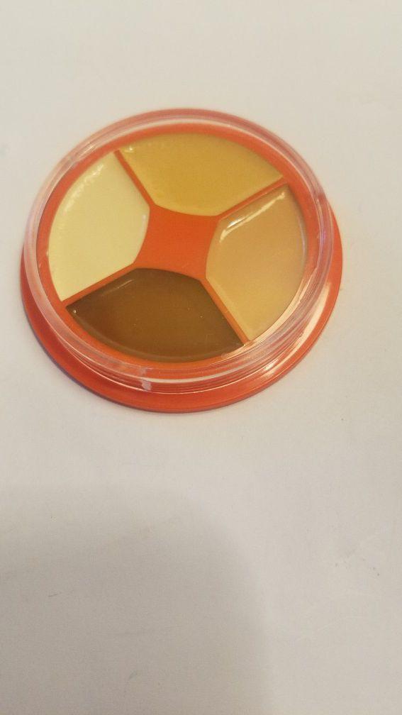 Kryolan Dermacolor Camouflage Concealer Foundation Makeup Palette Wheel 4 Colors