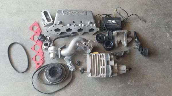Honda b16/b18c5 jackson racing supercharger for Sale in Irvine, CA - OfferUp
